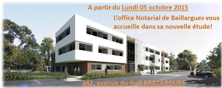 Notre d m nagement l 39 office notarial de baillargue sera - Office notarial la chapelle des fougeretz ...